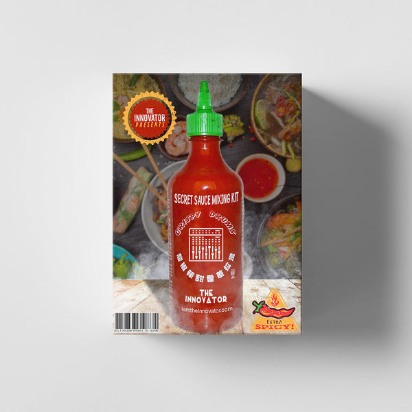 Secret Sauce Mixing Template (Kit) - Iamtheinnovator.com