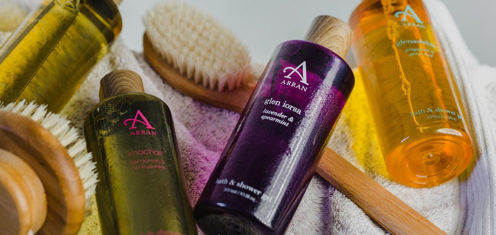 Bath & Shower Gels from ARRAN Sense of Scotland