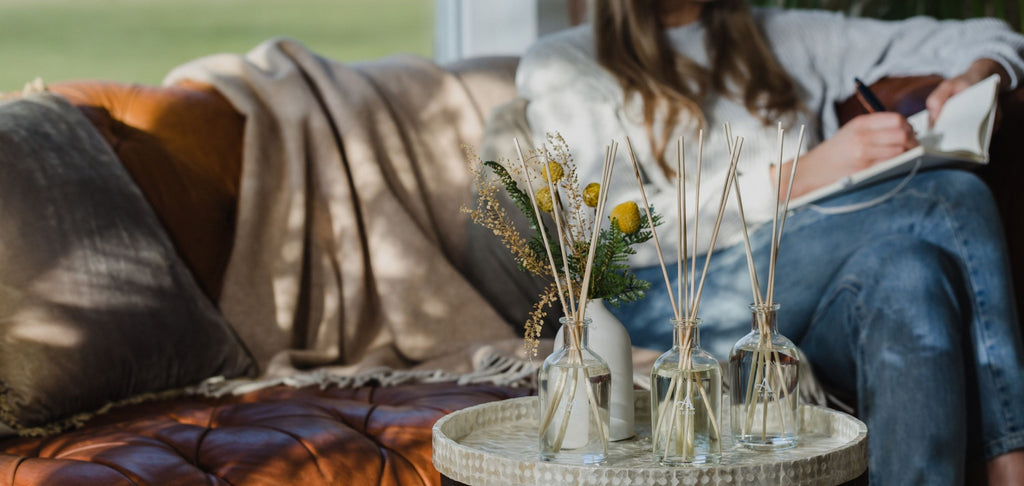 Image of Reed Diffusers in a lounge