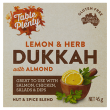 Load image into Gallery viewer, Table of Plenty All Natural Gluten Free Lemon Herb Dukkah (45g) - mrs-free-singapore