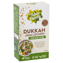 Load image into Gallery viewer, Table of Plenty All Natural Gluten Free Asian Black Sesame Dukkah Salad Sprinkles(60g)