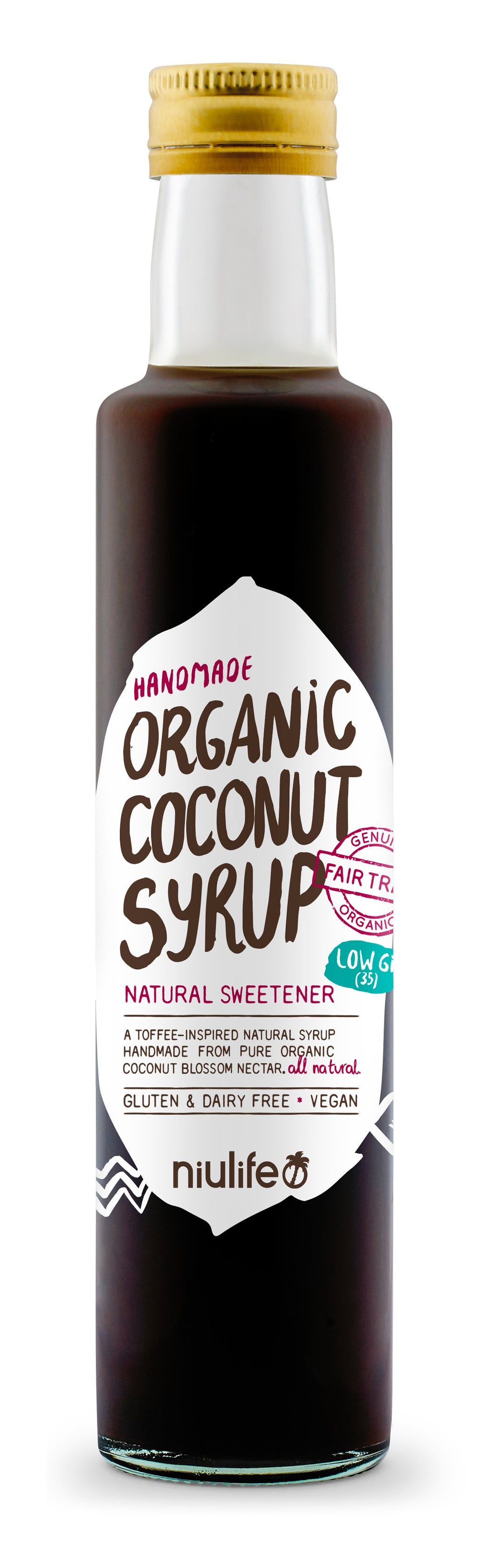 BBD 31 JUL Niulife Organic Low Gi Handmade Coconut Syrup (250ml) (LIMITED) UP$19.90 SP$9.90 - mrs-free-singapore