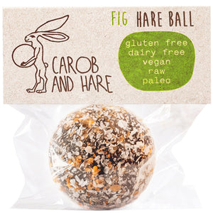 Carob And Hare - Hare Ball (Fig) (Carob Based Snack)(30g when packed)
