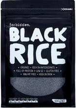 Load image into Gallery viewer, Forbidden Foods Organic Black Rice (Non-GMO) (500g)