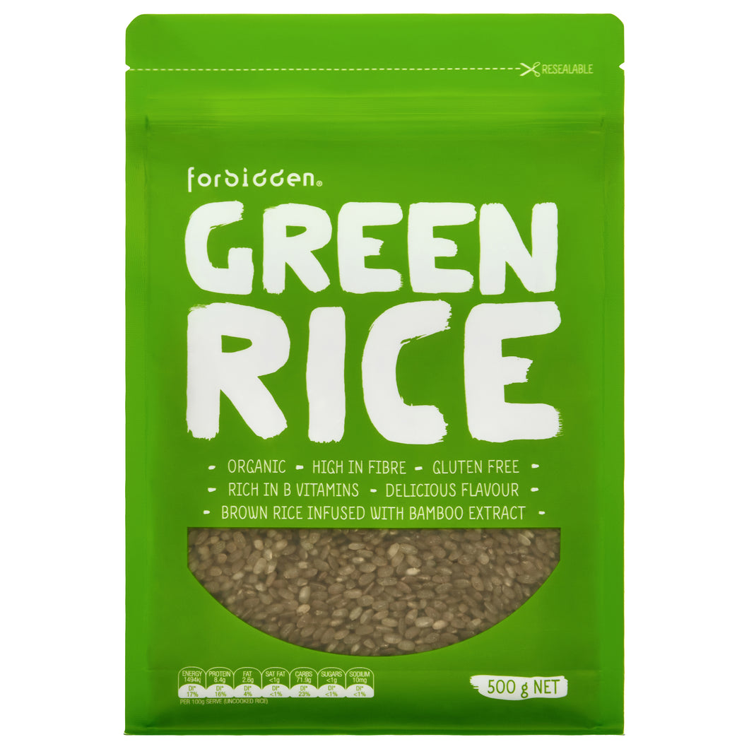 Forbidden Foods Green Rice (Organic/Non-GMO) 500 g - mrs-free-singapore