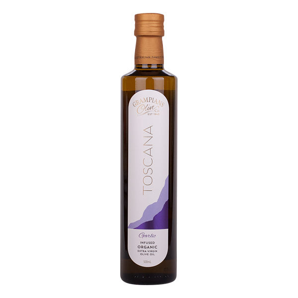 GARLIC INFUSED ORGANIC EXTRA VIRGIN OLIVE OIL - mrs-free-singapore