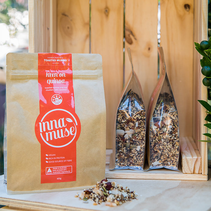 Inna Muse Keen on Quinoa (400g) - mrs-free-singapore