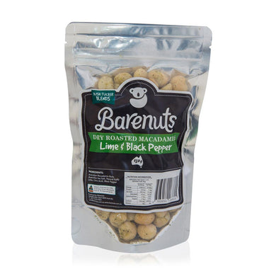 Barenuts Lime & Black Pepper Macadamias (150g) Award Winner - mrs-free-singapore