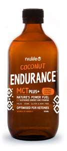 Coconut Endurance MCT Plus+ - 500ml Glass Bottle - mrs-free-singapore