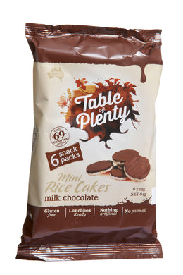 Table of Plenty Milk Chocolate Snack Pack (6 x 14g - 84g) - mrs-free-singapore