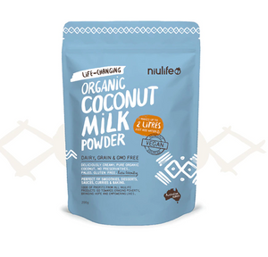 Coconut Milk Powder - Certified Organic 200g - mrs-free-singapore