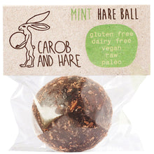 Load image into Gallery viewer, Copy of Carob And Hare - Hare Ball (Mint) (Carob Based Snack)(30g when packed) - mrs-free-singapore
