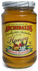 The Original Archibald's 100% Australian Honey - Orange Blossom (500g)