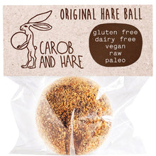 Load image into Gallery viewer, Carob And Hare - Hare Ball (Original) (Carob Based Snack)(30g when packed)