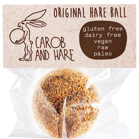 Carob And Hare - Hare Ball (Original) (Carob Based Snack)(30g when packed) - mrs-free-singapore