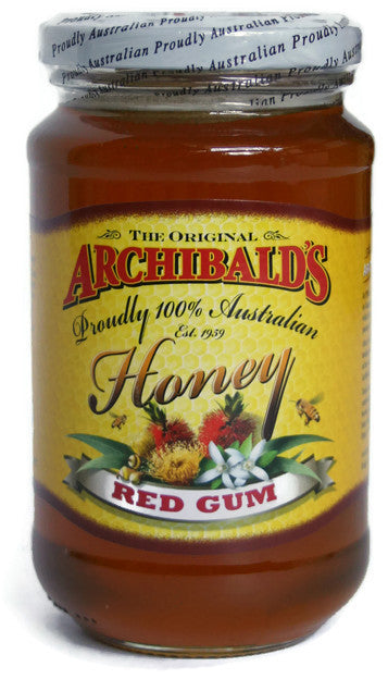 The Original Archibald's 100% Australian Honey - Red Gum (500g)