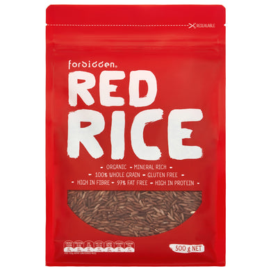 Forbidden Foods Organic Red Rice (Non-GMO) (500g) - mrs-free-singapore
