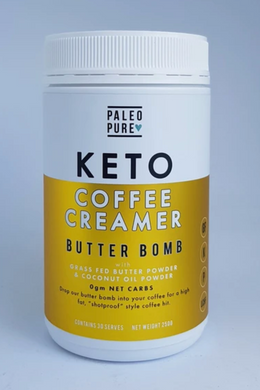 Paleo Pure Coffee Creamer -Butter Bomb (Grass Fed Butter and Coconut Oil) (250g)