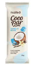 Load image into Gallery viewer, Niulife Cocobar - Vanilla Bean (35g) NEW!