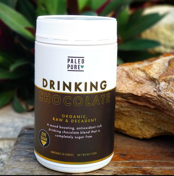 Paleo Pure Sugar Free Drinking Chocolate  (350GM)