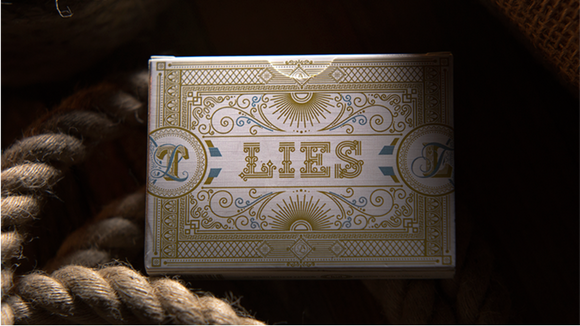 Lies Playing Cards (There is No Beauty in Truth) (PREORDER)