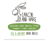 Carob And Hare - Hare Ball (Mint) (Carob Based Snack)(30g when packed)(Indiv/ box of 12)