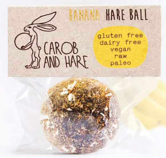 Carob & Hare Banana Hare Ball (30g)*Order Now. Delivery in Feb 21
