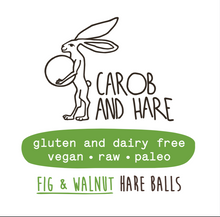 Load image into Gallery viewer, Carob And Hare - Hare Ball (Fig) (Carob Based Snack)(30g when packed)