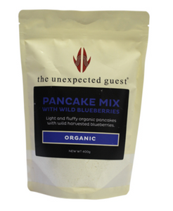 The Unexpected Guest Blueberry Pancake Mix with Wild Canadian blueberries (400g) - mrs-free-singapore