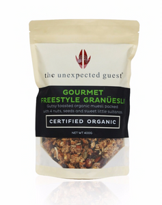 The Unexpected Guest Organic Freestyle Granüesli Granola - Award Winner - mrs-free-singapore
