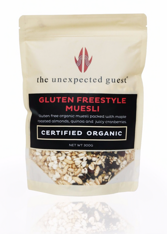 The Unexpected Guest Gluten Free – Style Muesli 300G - mrs-free-singapore