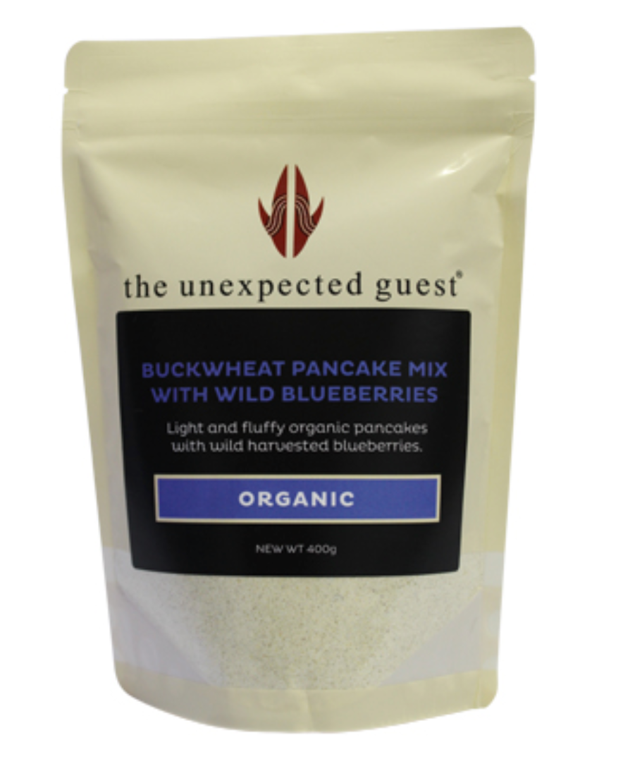 Gluten free Buckwheat Pancake Mix with Wild Canadian Blueberries (400g)(Pack of 2) - mrs-free-singapore