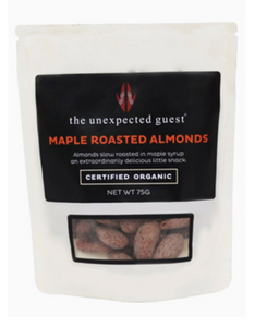 The Unexpected Guest Maple Roasted Almonds 75G - mrs-free-singapore