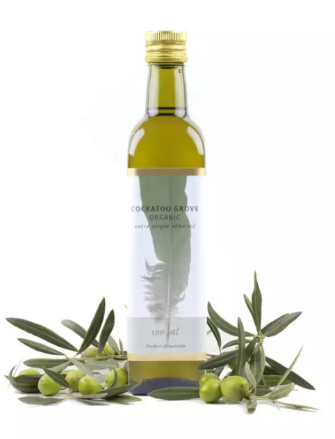 Cockatoo Grove Organic 100% Australian EVOO (First Cold Pressed) (500ml) (Single Estate)