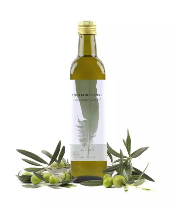 Cockatoo Grove 100% Australian Premium Olive Oil (500ml) (Single Estate)