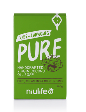 Niulife Virgin Coconut Oil Soap -Pure (100g)