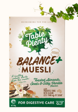 Load image into Gallery viewer, Table of Plenty Balance+ Low FODMAP Fruit Free Muesli (400g) NEW!