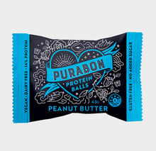 Load image into Gallery viewer, Purabon Peanut Butter Protein Ball (43g)