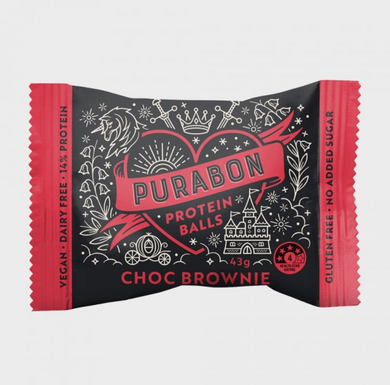 Purabon Choc Brownie Protein Ball (43g)