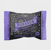 Load image into Gallery viewer, Purabon Coconut Cacao Probiotic Ball (43g)