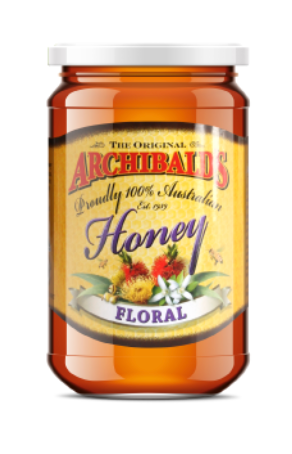 (Currently Unavailable) The Original Archibald's 100% Australian Honey - Floral (500g)