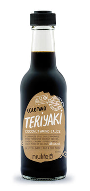 Cocomino - Teriyaki Coconut Amino Sauce - 250ml Bottle - mrs-free-singapore