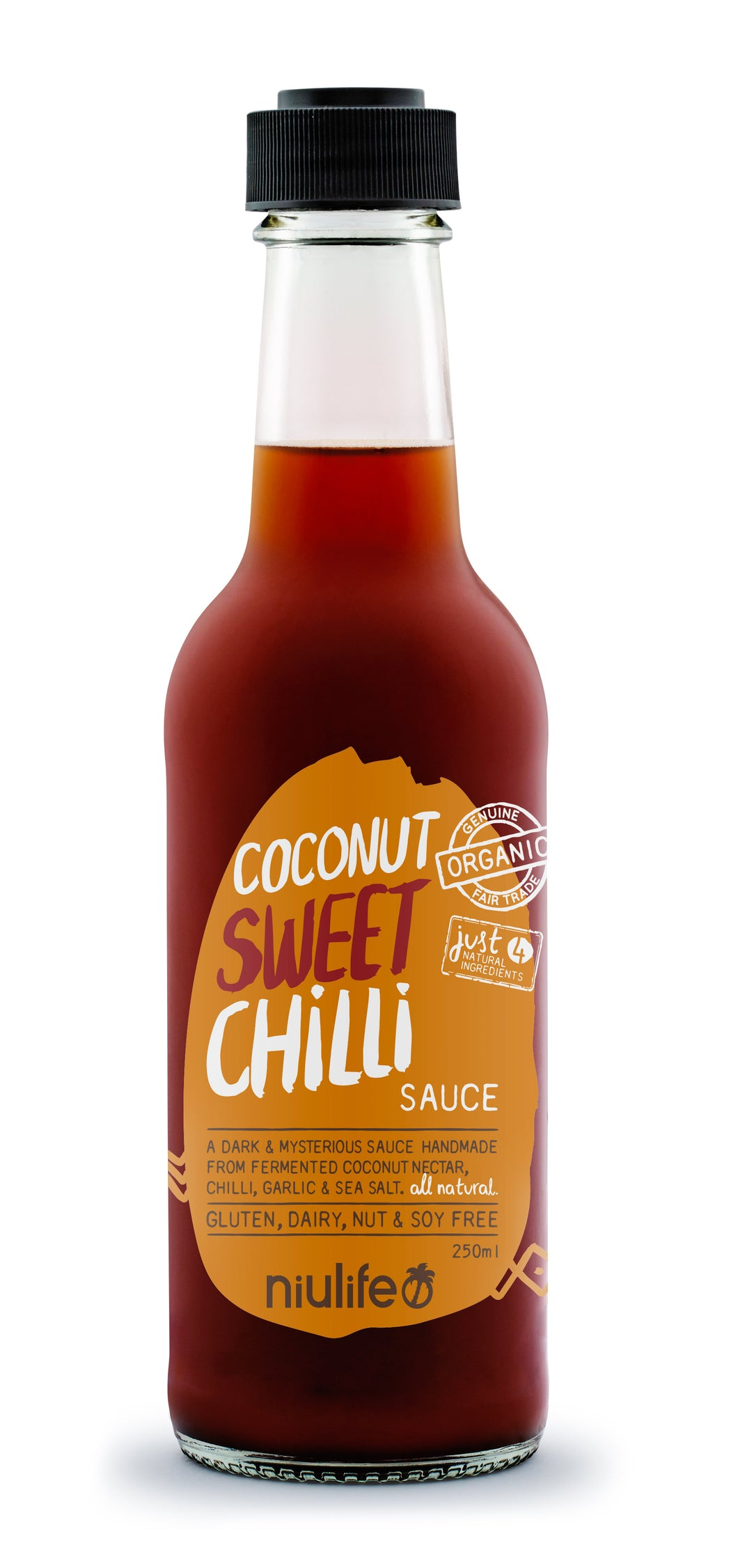 Coconut Sweet Chilli Sauce - 250ml Bottle - mrs-free-singapore