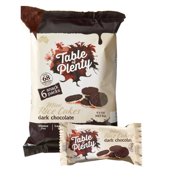 Table of Plenty Dark Chocolate Snack Pack (14g x 6 - 84g) - mrs-free-singapore