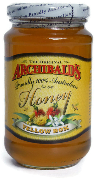 The Original Archibald's 100% Australian Honey - Yellow Box (500g)