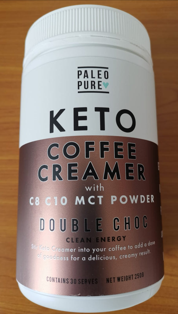 Paleo Pure Coffee Creamer with MCT Powder - Double Chocolate (250g)
