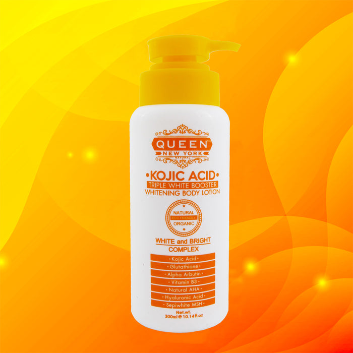300ml Kojic Acid Triple White Booster Whitening Body Lotion