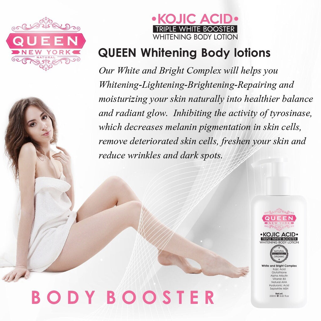 Duo Whitening Set | Kojic Acid+Gluta Max | QUEEN Natural Skin Whitening