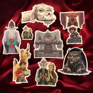 The NEVERENDING STORY Christmas COLLECTION - Xmas Card & 7 Ornaments!