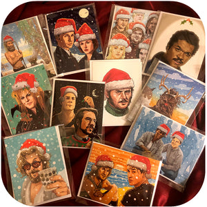 45 GEEKTASTIC CHRISTMAS CARDS!